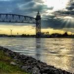 """Railroad Bridge, Cape Cod Canal"" by CapeCodCyclist"