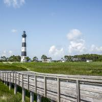 Bodie Island Lighthouse Art Prints & Posters by Laura Frazier