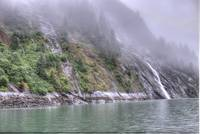 Waterfalls and Rain, Endicott Arm