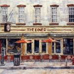 """""""Diner On West 14th Street"""" by JoeyAgbayani"""