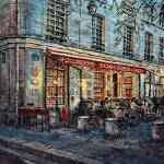"""Le Cafe-Theatre de la Magie"" by JoeyAgbayani"