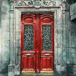 """Parisian Door No.33"" by JoeyAgbayani"