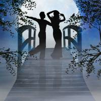 Dancing in the Moonlight Art Prints & Posters by Nina Bradica