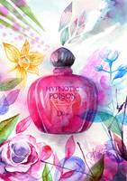Perfume illustration Dior Hypnotic poison