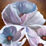 """White Hibiscus"" by BrendaSalyersArt"