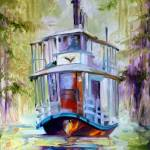 """BAYOU TAXI 1620"" by MBaldwinFineArt2006"