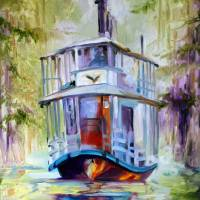 BAYOU TAXI 1620 Art Prints & Posters by Marcia Baldwin