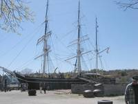 Tallship at Mystic River