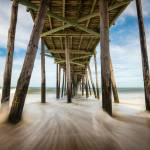 """Outer Banks NC Nags Head Fishing Pier OBX Carolina"" by DAPhoto"