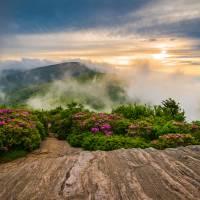 North Carolina Appalachian Blue Ridge Mountains Art Prints & Posters by Dave Allen