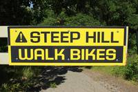 Steep Hill Sign