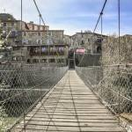 """Rupit's Hanging Bridge (Catalonia)"" by mgarrido"