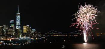 Fireworks On The Hudson