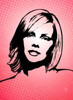 Charlize Theron - Pop Art