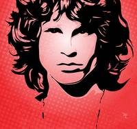 Jim Morrison - Light my fire - Pop Art
