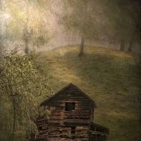 Old Barn and Four Trees Art Prints & Posters by Joe Gemignani