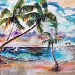 """Meet you on Bimini Island Bahamas"" by GinetteCallaway"