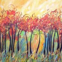 Let The Land Produce Vegetation Genesis 1 Art Prints & Posters by RUTH PALMER