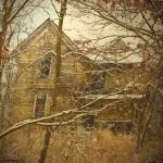 """Haunted House-In Snow#1"" by joegemignani"
