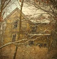 Haunted House-In Snow#1 by Joe Gemignani