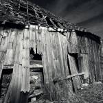 """Collapsing barn"" by philjern"