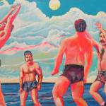 """Volleyball Game at Herring Cove"" by BeaconArtWorksCorporation"