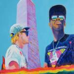 """Pilgrimage Washington DC LGBT March"" by BeaconArtWorksCorporation"