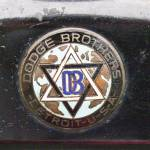 """Dodge Brothers Badge"" by janesclassiccarphotos"