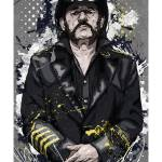 """Old Gods Die Hard, Portrait of Lemmy Kilmister"" by tBaneArt"