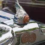 """1926 Pontiac Mascot and Badge From Left"" by janesclassiccarphotos"