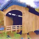 """""""Stewart Bridge In Watercolor"""" by Kirtdtisdale"""