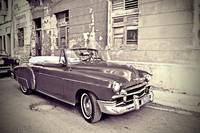 Havana Cuba Black and White