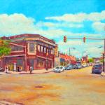 """Corner Of Harvard & Brighton Ave"" by AngeloJAversa"