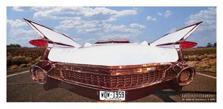 1959 Cadillac Panoramic White