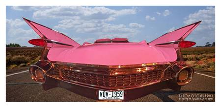 1959 Cadillac Panoramic Pink