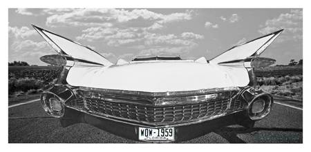 1959 Cadillac Panoramic B&W