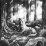"""fawnandthewolf"" by AlexisRosasco"