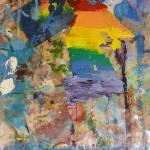 """Pride Parade 2015 Abstract"" by BeaconArtWorksCorporation"