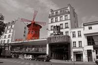 Moulin Rouge Colorsplash Montmartre Paris France