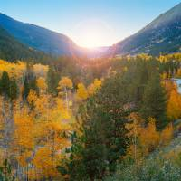 """Colorado Autumn Sunset"" by Anna Miller"
