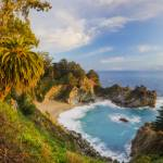 """McWay Falls Overlook, California"" by AnnaMiller"