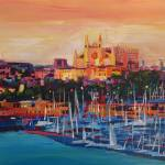 """Spain Balearic Island Palma de Majorca with Harbou"" by arthop77"