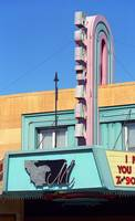 Miles City, Montana - Theater Marquee 2007
