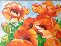 Poppies On Fire