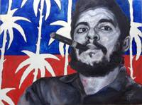 Revolutionary Activist A portrait of Che' Guevara