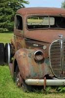 Rust Covered Antique Truck