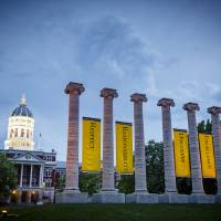 The Columns and Jesse Hall Art Prints & Posters by Notley Hawkins