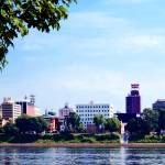 """Harrisburg PA Skyline"" by susansartgallery"