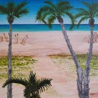 Beach Scene Art Prints & Posters by Wayne Cantrell