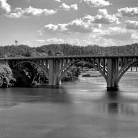 Henley Street Bridge Knoxville Art Prints & Posters by Robert Meyers-Lussier